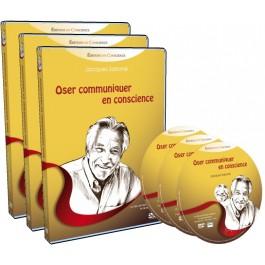 Pack 3 DVD Oser communiquer en conscience avec Jacques Salomé