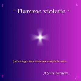CD Flamme Violette, de Michel Garnier